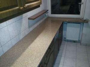 blaty kuchenne wrocław z konglomeratu kwarcowegocrystal sahara