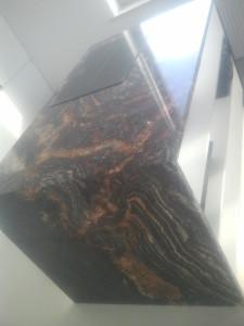 blaty kuchenne wrocław z granitu fusion black