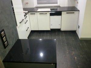 blaty kuchenne wrocław brilliant black