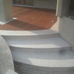 schody z granitu Strzegomskiego