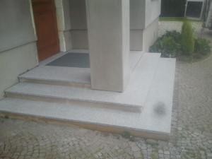 schody z granitugranit Strzegomski
