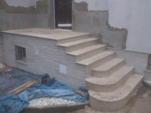 schody z granitu albero
