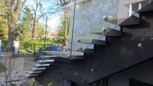 schody z granitu granit strzegomski i padang dark