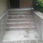 schody z granitu Yellow Rock G 682